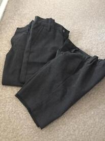 Boys school trousers and shorts age 6