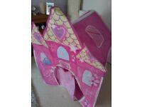 Girls pop up Princess tent