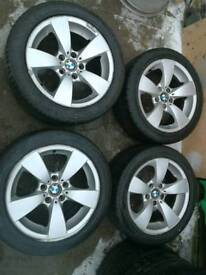 17 bmw e60 5 series alloys fits 3 series