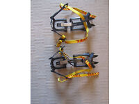 Grivel C1 crampons, 10 point, unused for size 14-5 boots