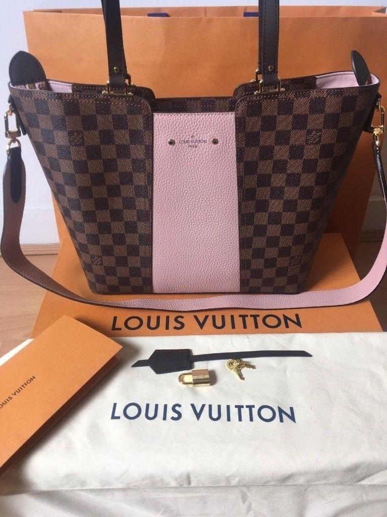 6c7f38e81fa5 Authentic Louis Vuitton Jersey Magnolia Damier Ebene Bag | in City of ...