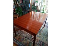 Vintage G-Plan Dining table and 4 chairs for sale