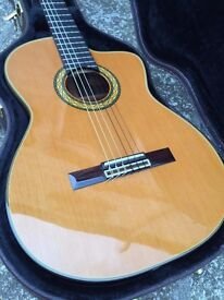 Takamine Hirade Concert Classical electro acoustic Guitar TH5C