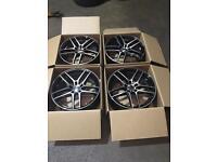 """18"""" Alloy wheels Vw T5/T6 Transporter BMW ."""