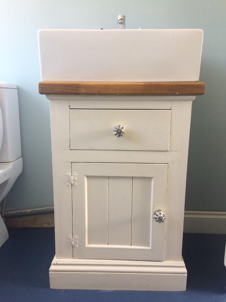 Shabby Chic Bathroom Vanity Unit And Basin In Norwich Norfolk
