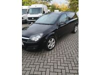 Cheap 56reg BLACK Vauxhall Astra sportive 1.9cdti NO VAT low miles