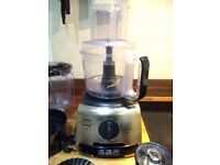 Tefal Food Processor Excellent Condition Including All Original Accessories