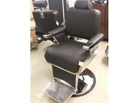 New Boxed Traditional Heavy Duty Barber Chairs