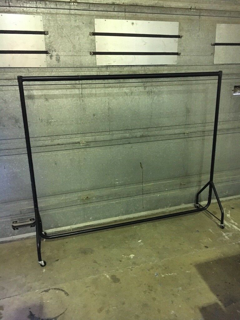 Clothes Rail On Wheels Comes Apart Very Strong Shop