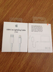 """Genuine Apple USB-C To Lightning Sync Charger Cable iPhone 6S 6 SE 5S 5 iPad Pro 12.9"""" /9.7"""""""