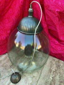 Timothy Oulton Light. VERY Large HUGE Ceiling Pendant Light UNIQUE Industrial AMAZING