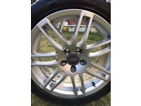 "Audi RS4 Alloys 17""**£195**Really-Good-Condition***x4"