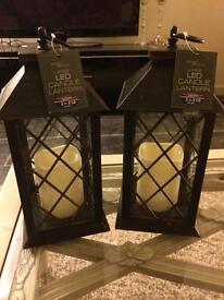 Candle lanterns LED internal use