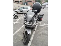 Honda CB-F 1000 Motorcycle, with: GPS, Top/Side Cases, Oxford Tank Bag, and SHOEI helmet w Cargo G9