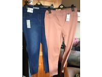 Woman's jeans x 2 pairs. Bargain £15