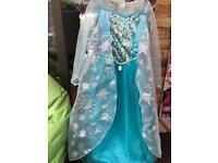 Elsa Disney dress size 7-8years