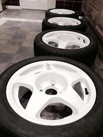 Compomotive MO5s alloy wheels rally track 4x100