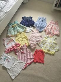 3-6 months baby girl bundle
