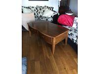 Beautiful big solid coffee table