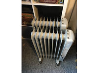 2x Large Oil Filled electric radiators