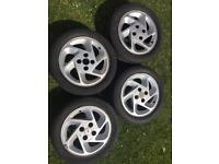 Ford RS Turbo Alloy wheels