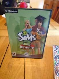 Sims 2 expansion pack (university)