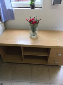 TV Stand Wood Effect