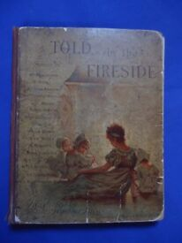TOLD BY THE FIRESIDE by Mrs. Molesworth; collectable children's book