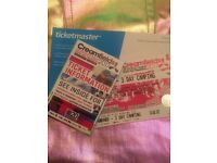 SOLD OUT CREAMFIELDS 3 DAY CAMPING TICKET & COACH TICKET FROM LONDON VICTORIA TO FEST AND BACK!