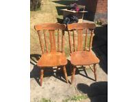 Pair of Kitchen / Dining Room Chairs
