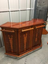 Beautiful Cherry wood home bar