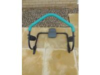 Abdominal exerciser - very good condition. Easy to assemble and unassemble.