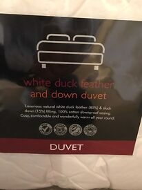 Double Duck Feather Duvet - Unopened, Brand New