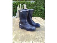 Waterproof Motorcycle boots. Size 8. Excellent condition. Hardly worn.