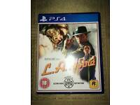 Ps4 game good as new/la noire/mint like new/ cash or swaps