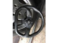 Vw seat Audi momo steering wheel d shape
