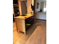 Kitchen with american fridge and more for sale