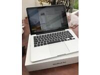 Macbook Pro 2015 13 inch, 2.7 ghz, 8gb ram, 256gb flash ssd, new screen