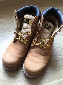 Men's Cat boots size 10