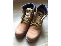 Men's Cat boots size 10
