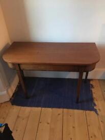 QUICK SALE Beautiful mahogany console table