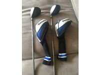 2 taylormade ladies 5 & 3 woods £150ono
