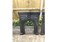Victorian Fire Surround (Cast Iron) C1890