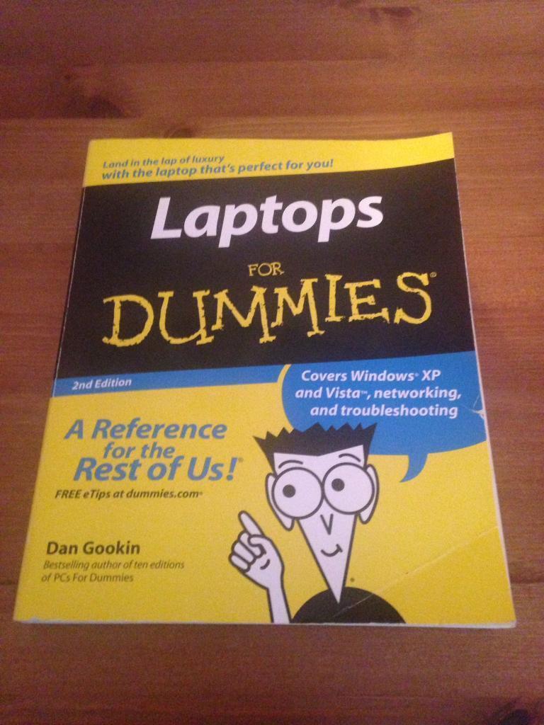 Laptop Book Windows XP & Vista