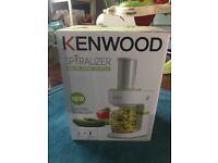 New Kenwood Electric Spiralizer