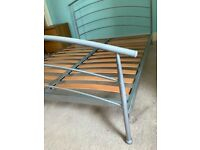 Double bed frame, metal, Jay-Be