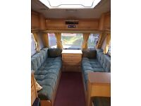 2003 Compass Omega 524 4 Berth caravan with motor mover