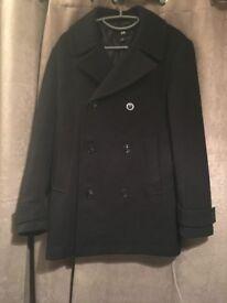 Black H&M coat, like new!