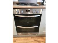 Zanussi Integrated Double Oven USED