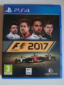 F1 2017 PS4 game